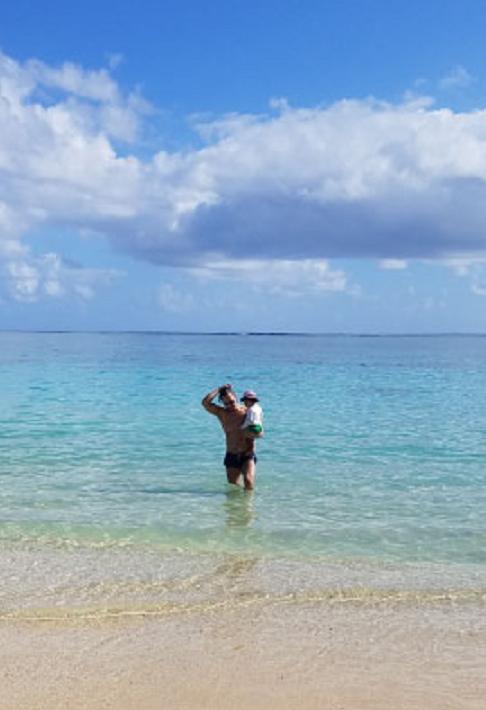 沖永良部からハワイへ女子旅♪