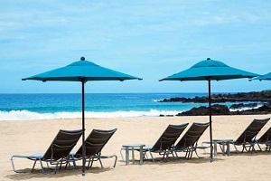 全米の中でベストビーチTOP10に選ばれたハプナビーチが目の前にあります。
