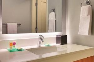【バスルーム】シャワーのみのお部屋となります。