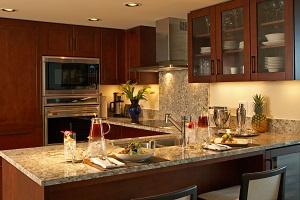 【全室キッチンまたはキチネット付き】毎食レストランで食べなくても、お部屋で食事ができます。